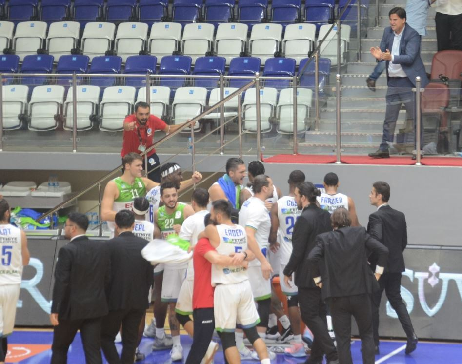 ING Basketbol Süper Ligi - Lokman Hekim Fethiye - Galatasaray