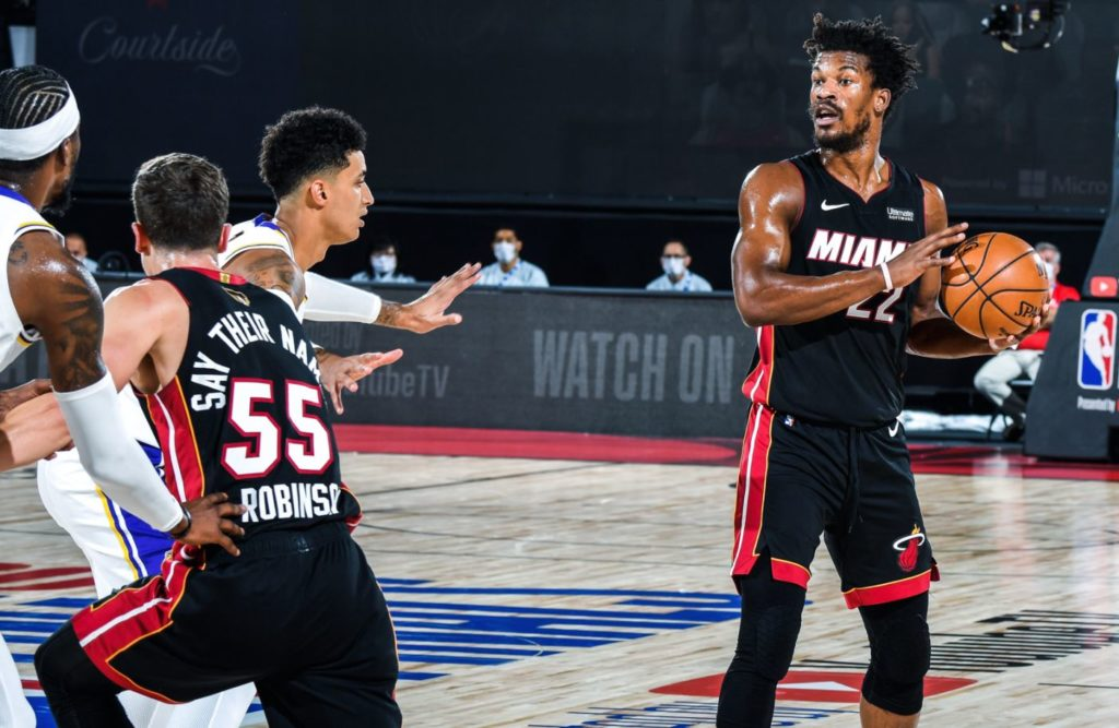 NBA Finals 2020 - Game 3 - Miami Heat - Los Angeles Lakers - Jimmy Butler