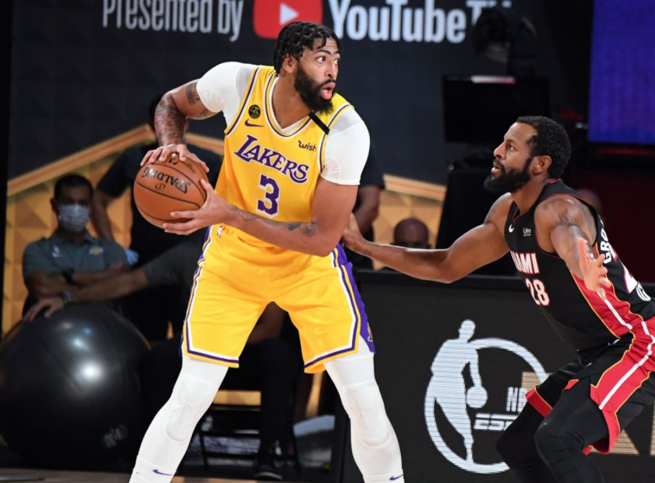 NBA Finals 2020 - Game 4 - Miami Heat - Los Angeles Lakers - Anthony Davis