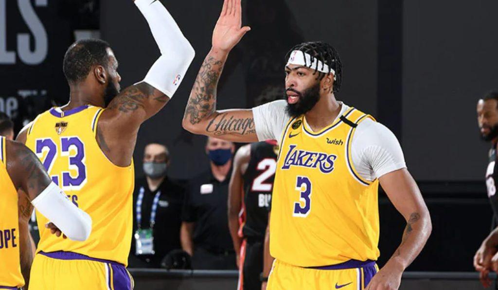 NBA Finals 2020 - Los Angeles Lakers - Miami Heat - LeBron James - Anthony Davis
