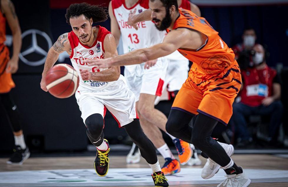 Eurobasket 2022 Elemeleri Türkiye - Hollanda Shane Larkin