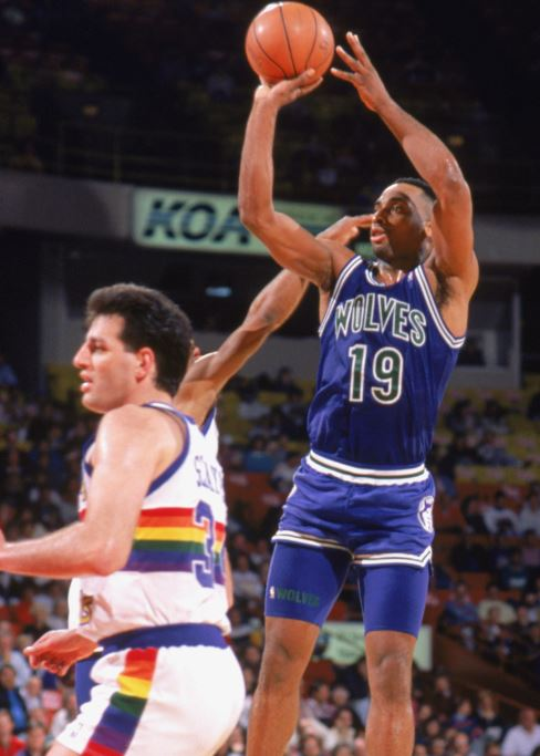 Minnesota Timberwolves first NBA win - Tony Campbell