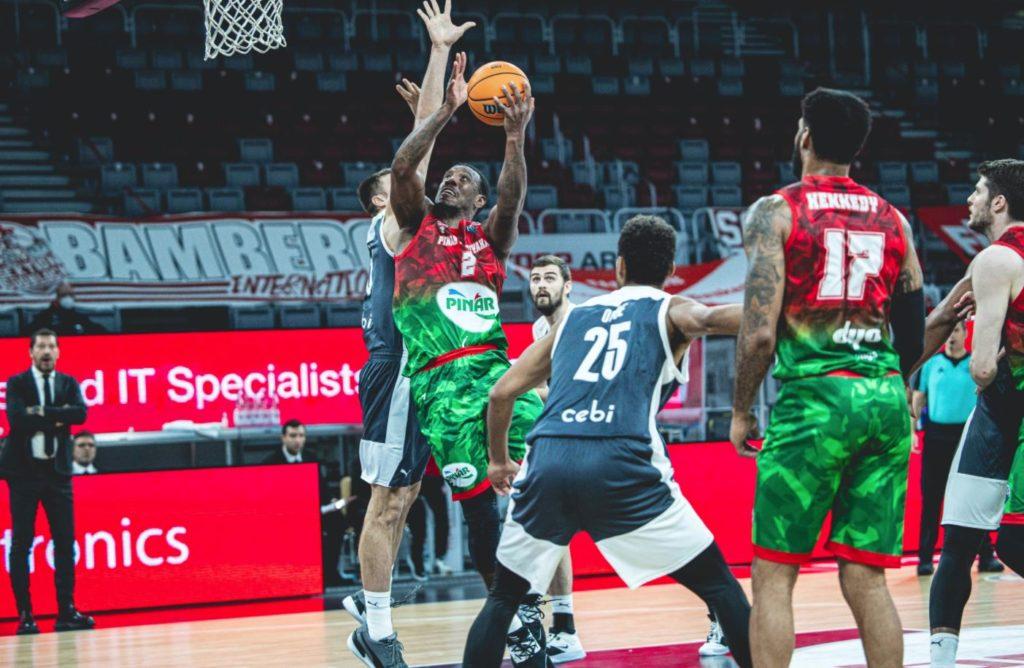 Basketball Champions League - Brose Bamberg - Pınar Karşıyaka - Raymar Morgan
