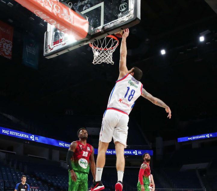 ING Basketbol Süper Ligi - Anadolu Efes - Pınar Karşıyaka - Adrien Moerman