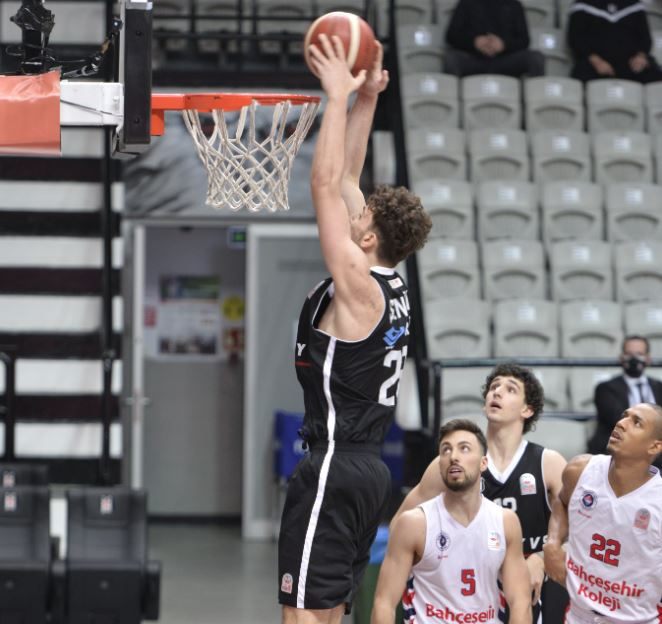ING Basketbol Süper Ligi - Bahçeşehir Koleji - Beşiktaş - Alperen Şengün