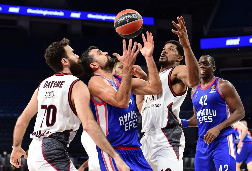 Turkish Airlines Euroleague - Anadolu Efes - AX Armani Exchange Milan
