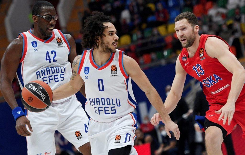 Turkish Airlines Euroleague - CSKA Moskova - Anadolu Efes - Shane Larkin - Bryant Dunston