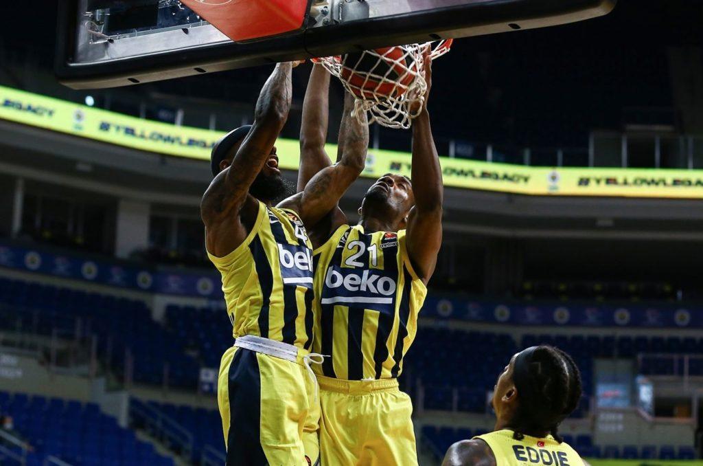 Turkish Airlines Euroleague - Fenerbahçe Beko - ASVEL - Lorenzo Brown - Dyshawn Pierre
