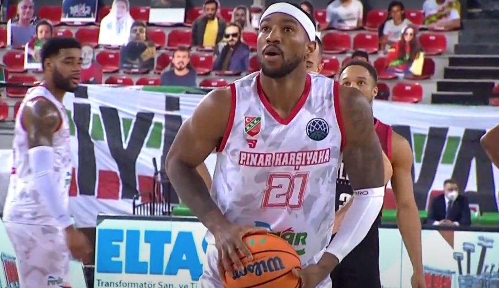 Basketball Champions League - Pınar Karşıyaka - Retabet Bilbao - Tony Taylor