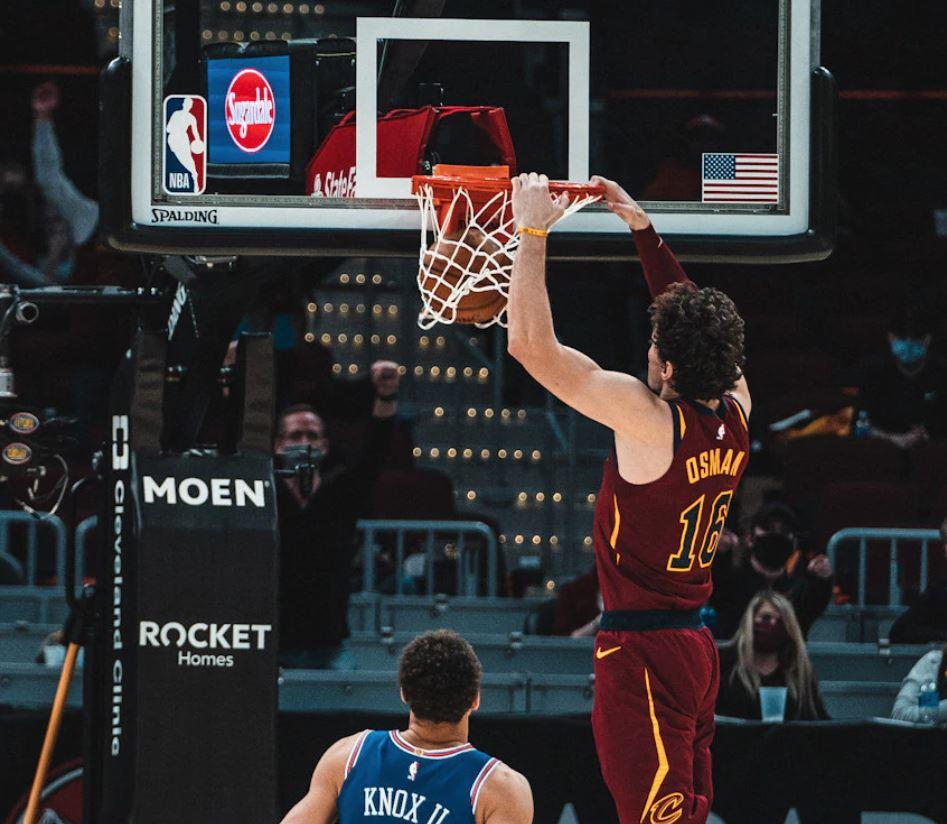Cedi Osman - Cleveland Cavaliers - New York Knicks - NBA 2020-2021
