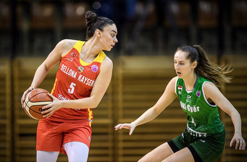 Euro Cup Women - Uni Gyor - Bellona Kayseri Basketbol - Melis Gülcan
