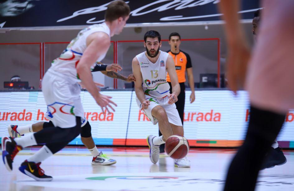 ING Basketbol Süper Ligi - Aliaga Petkim - Büyükçekmece Basketbol - Okben Ulubay