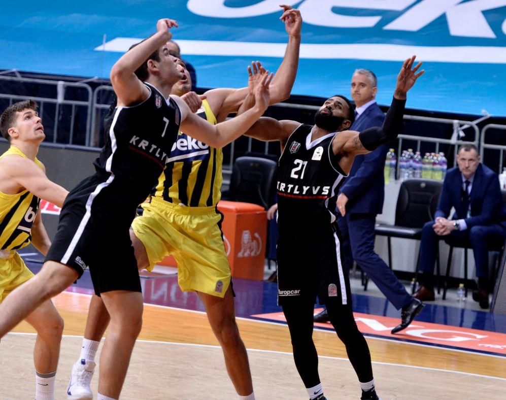 ING Basketbol Süper Ligi - Fenerbahce Beko - Beşiktaş - Furkan Haltalı