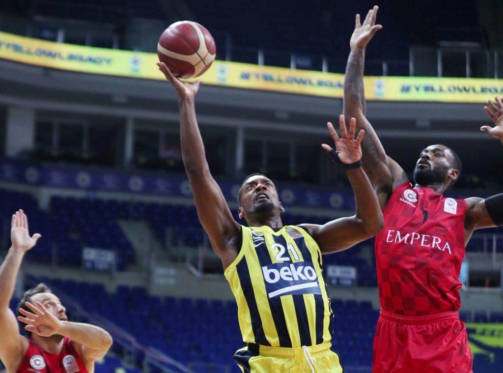 ING Basketbol Süper Ligi - Fenerbahce Beko - Gaziantep Basketbol - Dyshawn Pierre