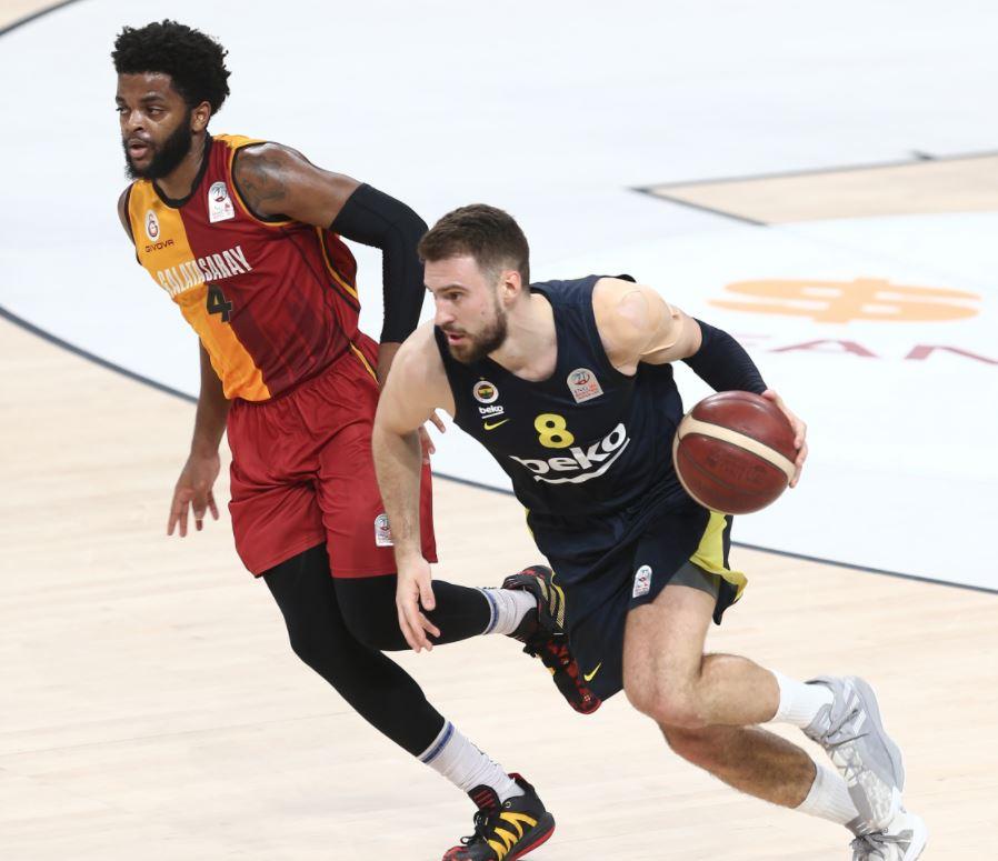 ING Basketbol Süper Ligi - Galatasaray - Fenerbahçe Beko - Marko Guduric