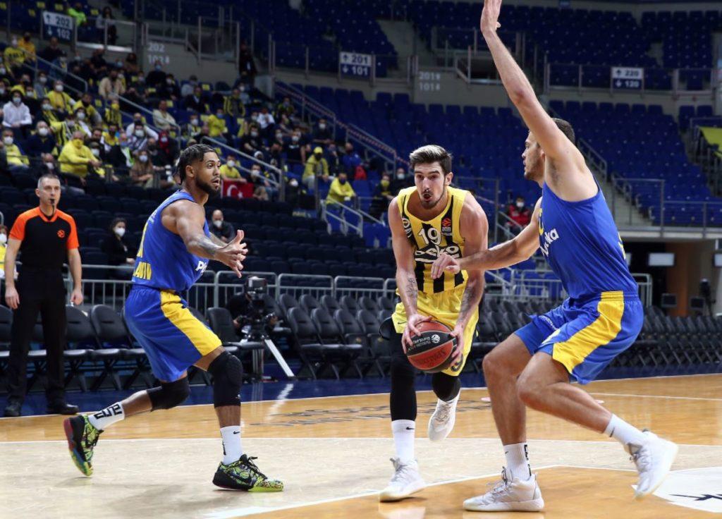 Turkish Airlines Euroleague - Fenerbahçe Beko - Maccabi Tel Aviv - Nando De Colo