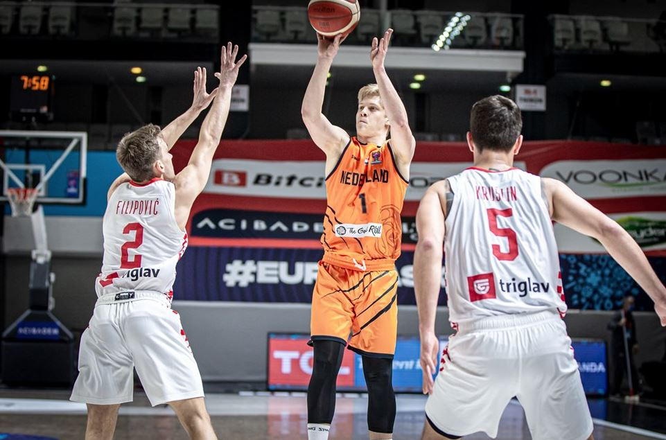 Eurobasket 2022 Elemeleri Hollanda - Hırvatistan - Keye Van der vuurst de Vries