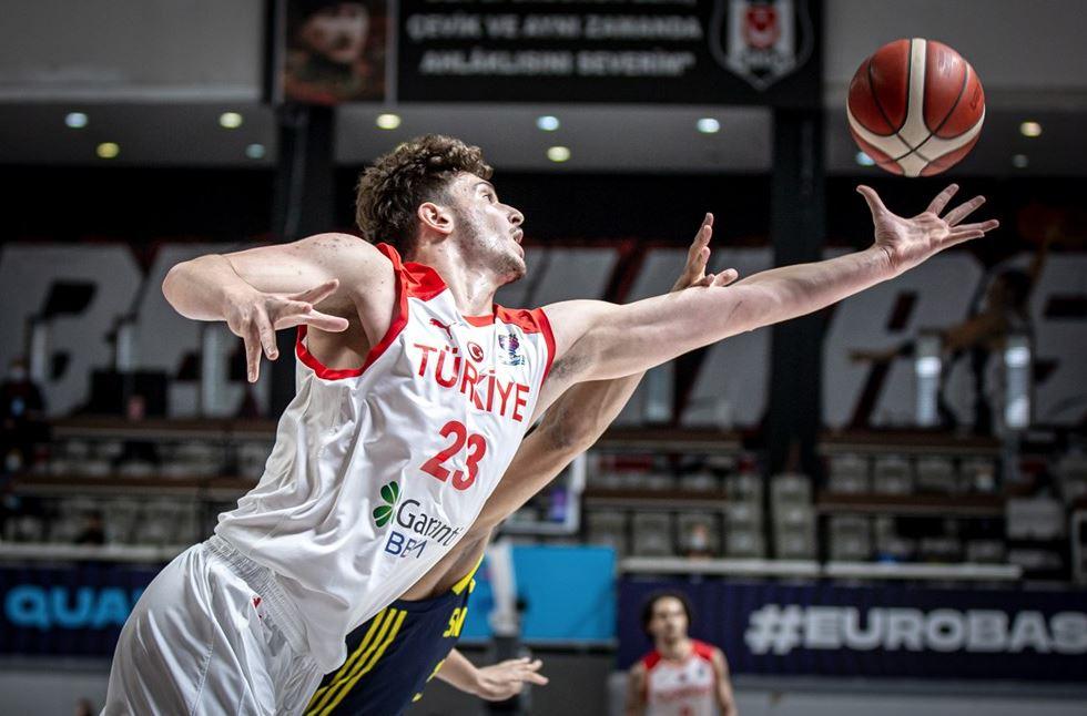 Eurobasket 2022 Elemeleri Türkiye - İsveç - Alperen Şengün