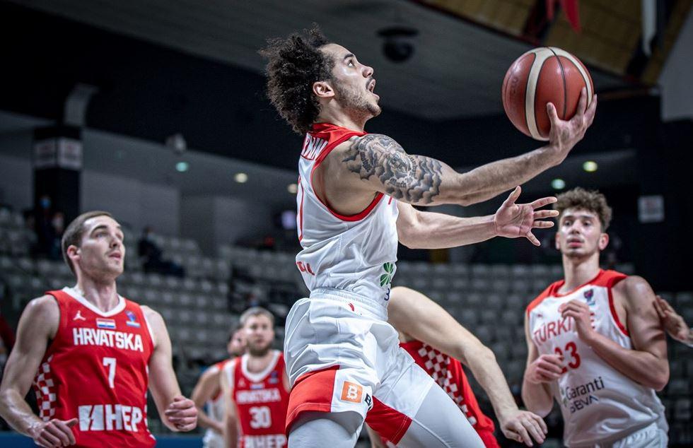 Eurobasket 2022 Elemeleri Türkiye - Hırvatistan - Shane Larkin