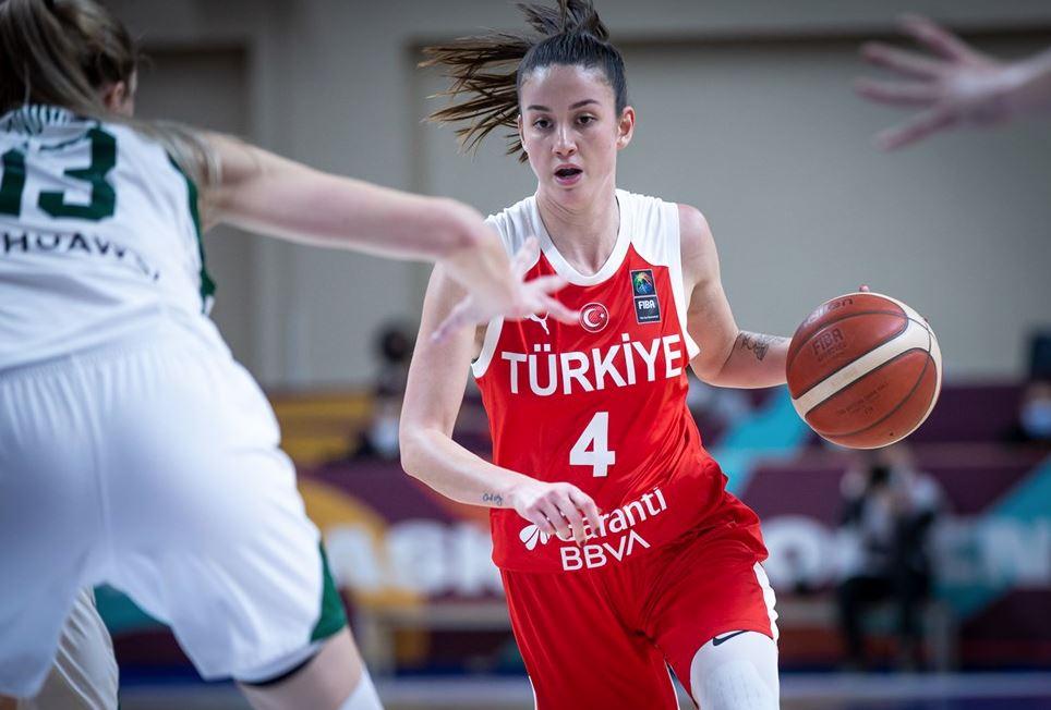 Eurobasket Women 2021 Elemeleri - Türkiye - Litvanya - Olcay Çakır
