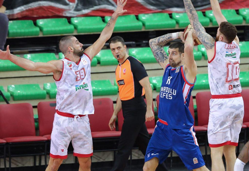 ING Basketbol Süper Ligi - Pınar Karşıyaka - Anadolu Efes - Adrien Moerman