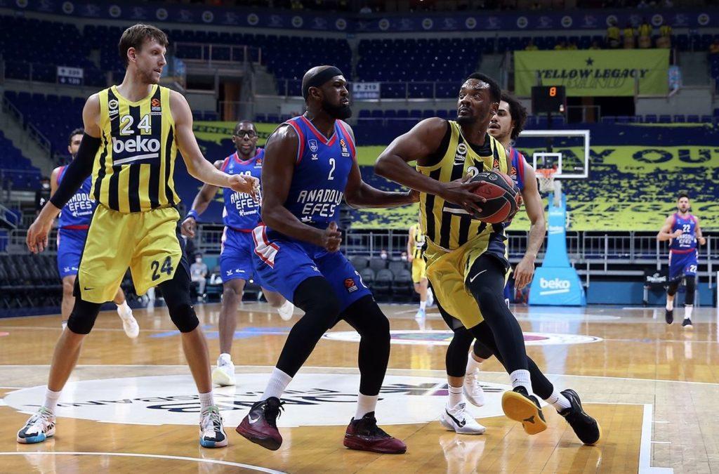 Turkish Airlines Euroleague - Fenerbahçe Beko - Anadolu Efes - Dyshawn Pierre