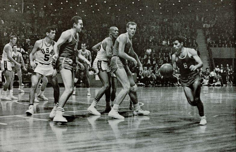 1964 Tokyo Olimpiyatları finali ABD - SSCB