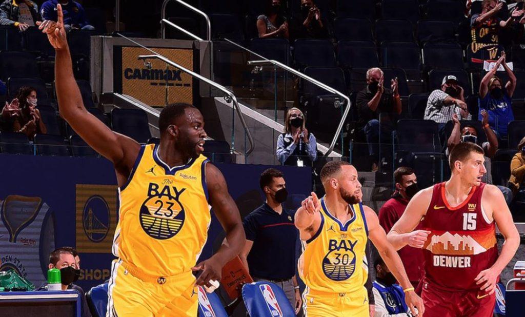 Draymond Green - Stephen Curry - Golden State Warriors