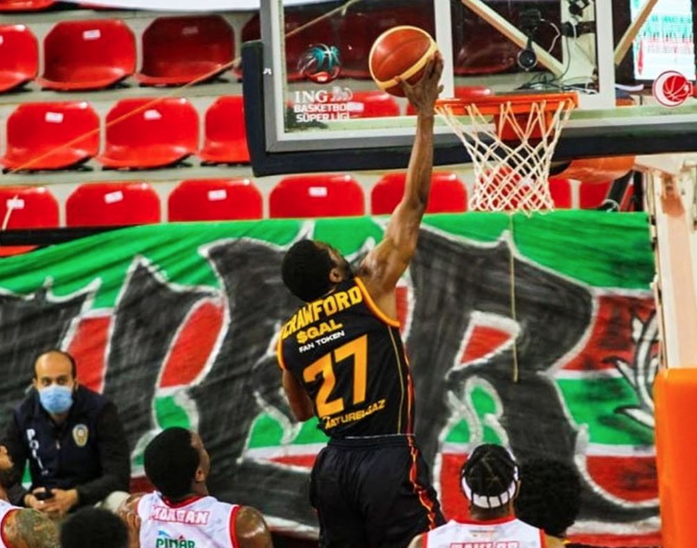 ING Basketbol Süper Ligi - Pınar Karşıyaka - Galatasaray - Jordan Crawford