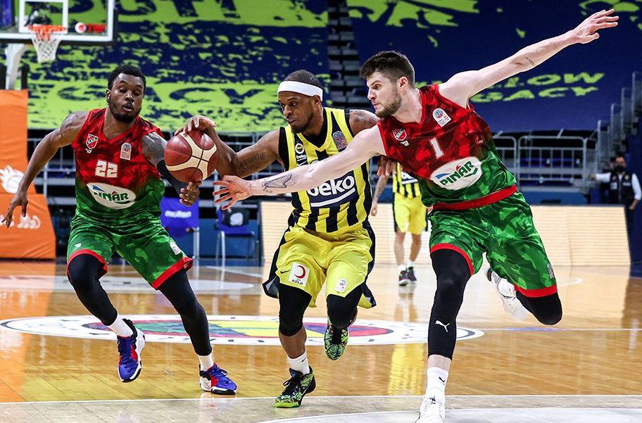 ING Basketbol Süper Ligi - Fenerbahçe Beko - Pınar Karşıyaka - Bobby Dixon - Metecan Birsen - Sek Henry