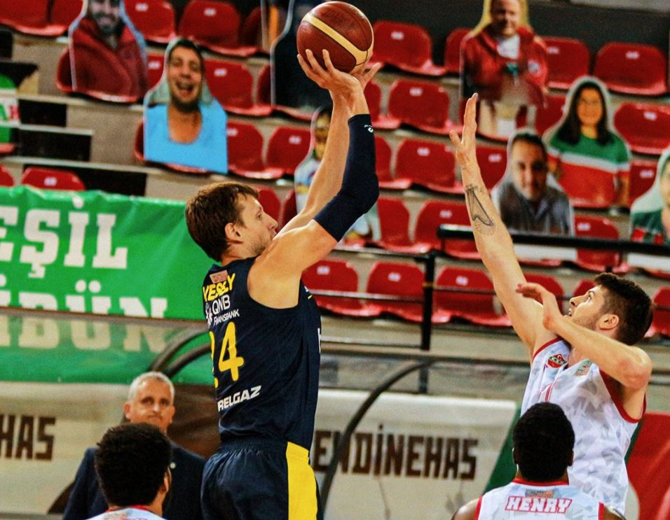 ING Basketbol Süper Ligi - Pınar Karşıyaka - Fenerbahçe Beko - Jan Vesely