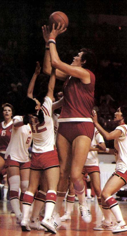 1976 Montreal Olimpiyatları - Uljana Semjonova - Sovyetler Birliği