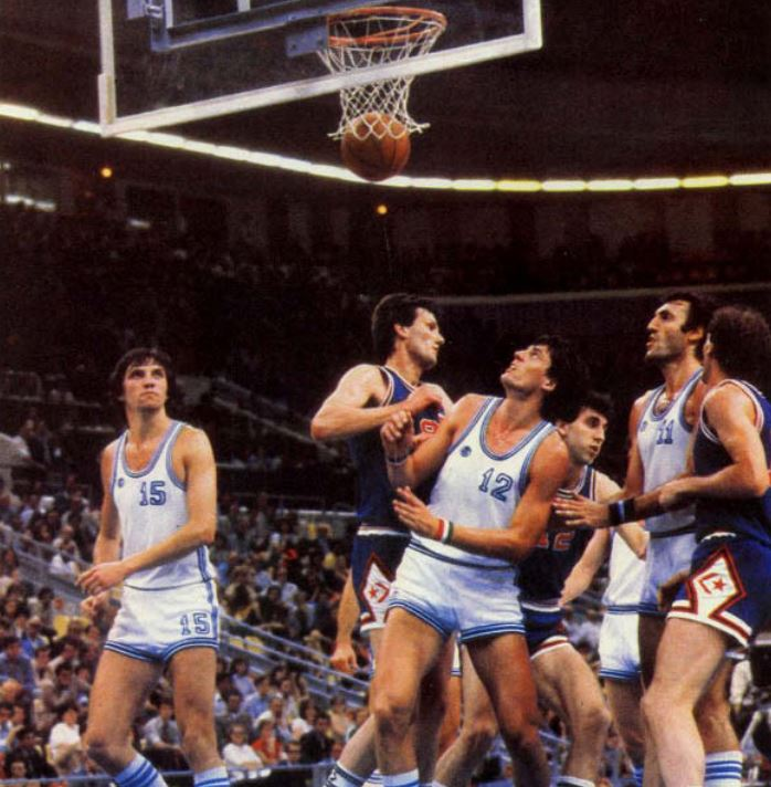 1980 Moskova Olimpiyatları - İtalya - Yugoslavya finali