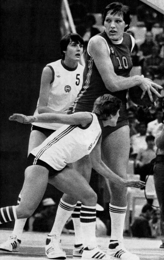 1980 Moskova Olimpiyatları - Uljana Semjonova - Sovyetler Birliği