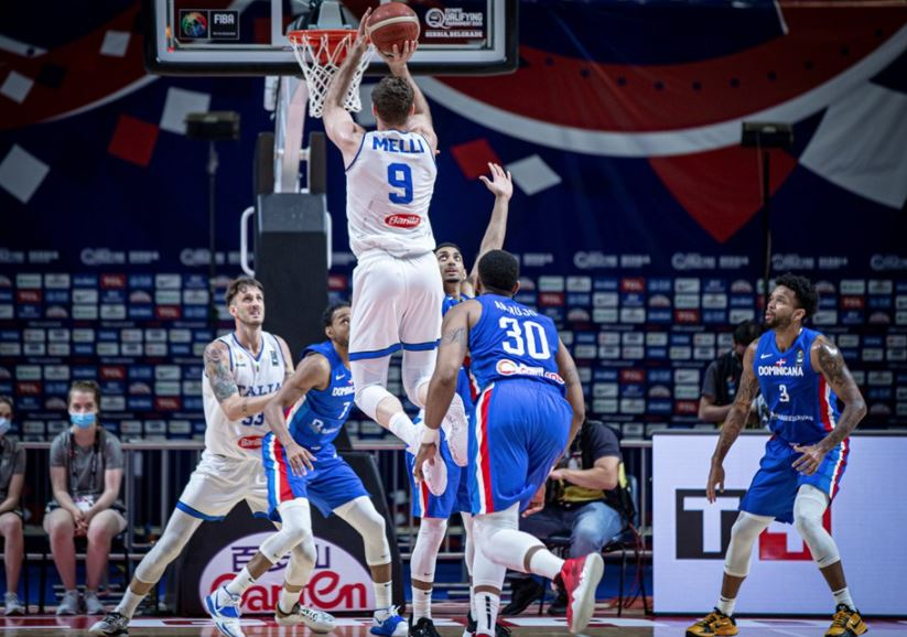 FIBA OQT İtalya - Porto Riko - Nicolo Melli