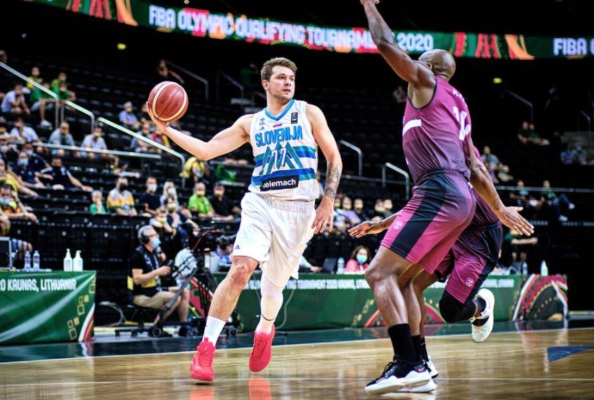 FIBA OQT Slovenya - Venezuela - Luka Doncic