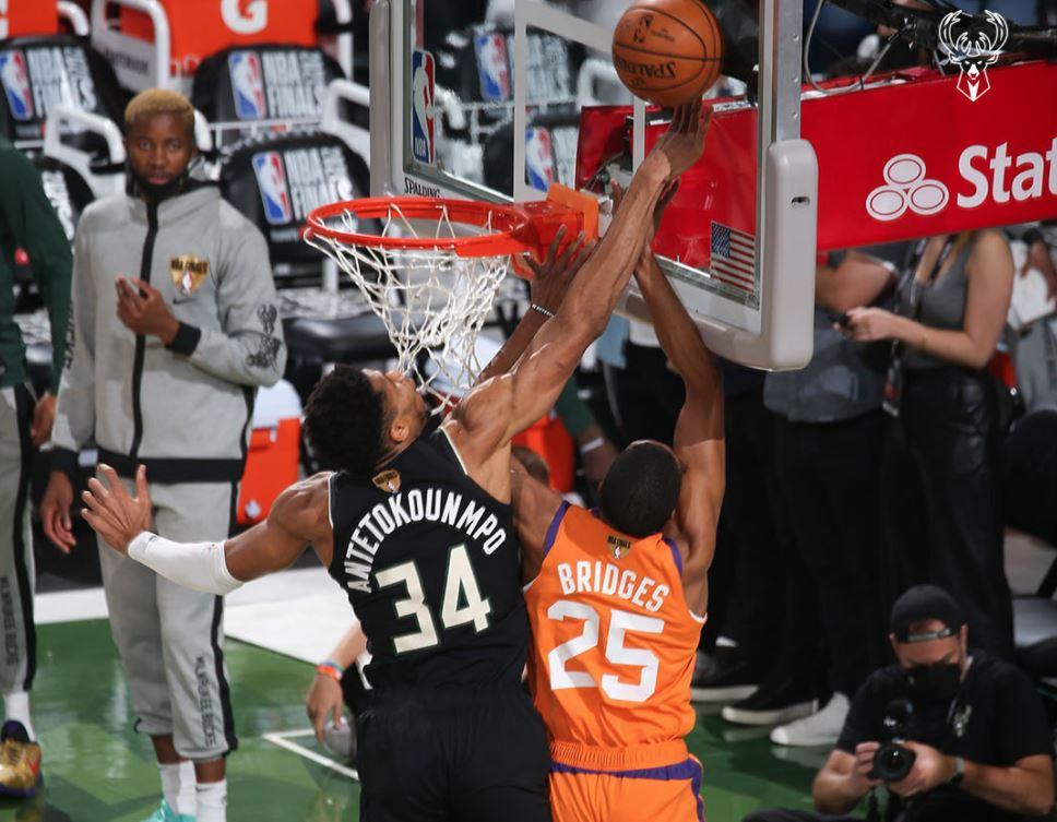 NBA Finals 2021 - Game 6 - Milwaukee Bucks - Phoenix Suns - Giannis Antetokounmpo