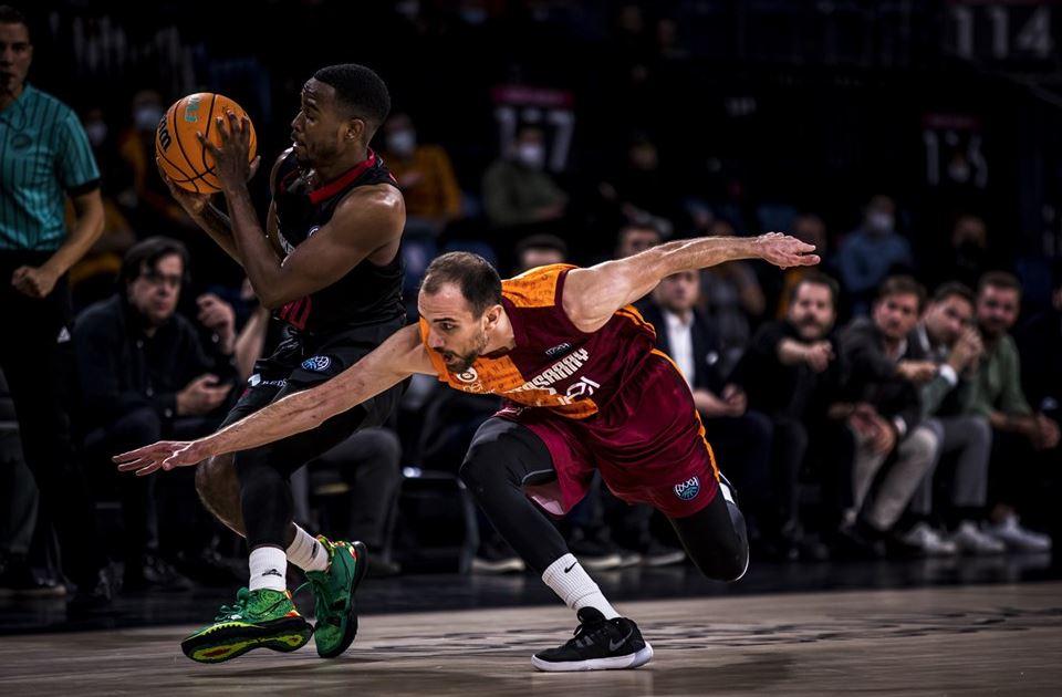 Basketball Champions League 2021-2022 Galatasaray Nef - ERA Nymburk - Rıdvan Öncel