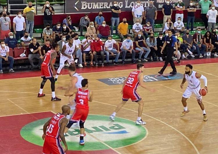 ING Basketbol Süper Ligi 2021-2022 Pınar Karşıyaka - Bahçeşehir Koleji
